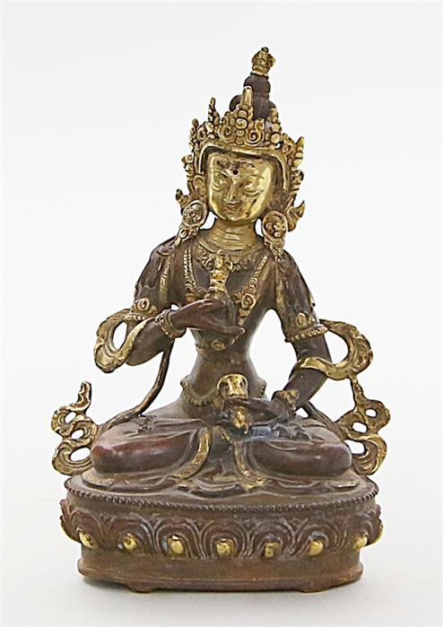 Skulptur des Buddha Vajrasattva.