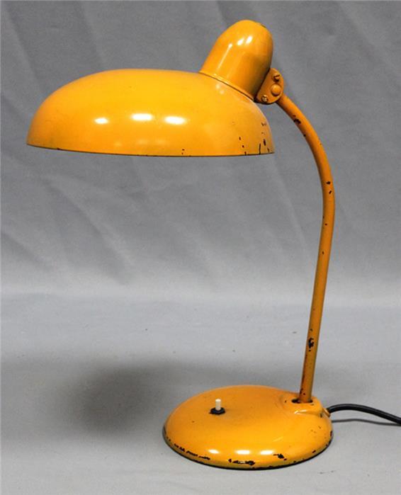 Art Deco-Schreibtischleuchte, einflammig.