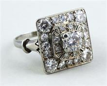 Art Deco-Diamantring.